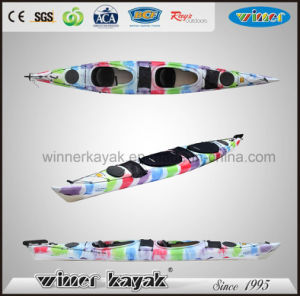 Classical Winner Plastic Ocean 2 Person Pedal Kayak pictures & photos