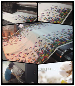 New Design Digital Belt Inkjet Textile Safe Direct to Garment Printer with Star Fire Head pictures & photos