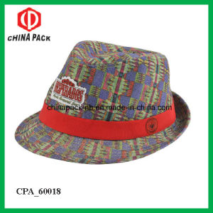 Customization Fedora Hats with Red Ribbon UK (CPA_60091) pictures & photos