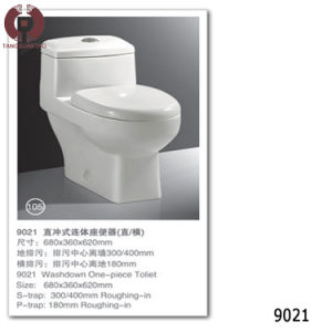 Building Material Bathroom Toilet Sanitary Ware (9021) pictures & photos