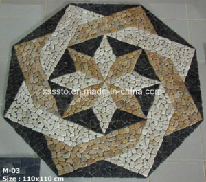 Star Style Marble Mosaic Pattern pictures & photos