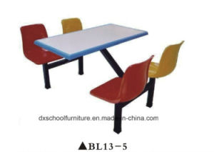 Fiberglass Dining Table and Chair for Restaurant pictures & photos