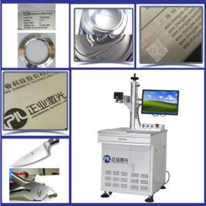 Zhengye Fiber Laser Metal Marking Machine, 20W pictures & photos