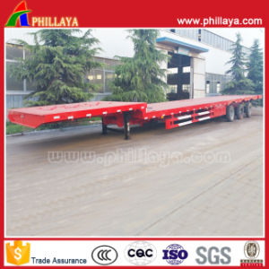 Expandale Extendable Low Bed Wind-Blade Bridge Beam Transport Semi Trailer pictures & photos