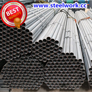 ERW Galvanized/ Annealing Welded Round Steel Tube (T-01) pictures & photos