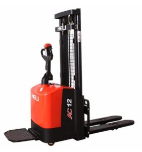 1.2 Ton Heli Narrow Leg Electric Stacker with 2-Stage Mast (CDD12-030) pictures & photos
