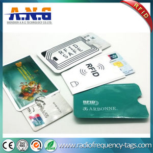 Anti Theft Capabilities Smart RFID Blocking Card Sleeve Protector Customized pictures & photos