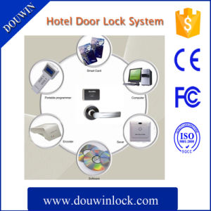 Hotel Electronic 1k RFID Card Door Lock pictures & photos