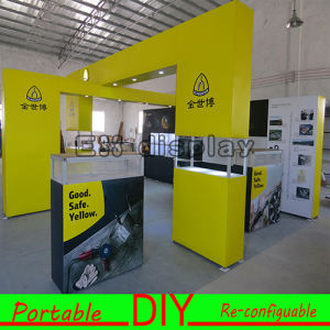 Aluminum Modular Reusable Portable Design Exhibition Display Booth for Trade Fair Show pictures & photos