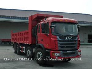 8*4 50 Ton JAC Tipper Truck pictures & photos