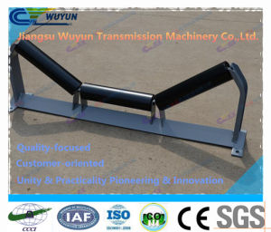 45 Degree Trough Idler with Frame, Conveyor Belt Roller Idler pictures & photos