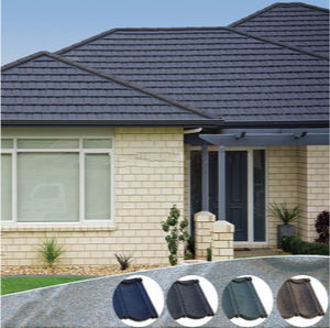Corrugated Stone Coated Steel Roof Tile/Stone Coated Metal Roof Tile pictures & photos