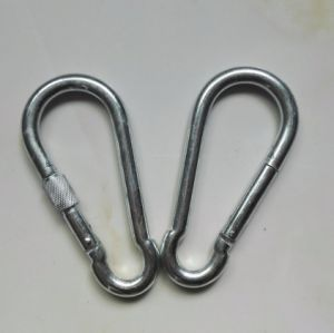Rigging Manufacturer Malleable /Stainless Steel Carabiner Spring Snap Hook /Cable Hook pictures & photos