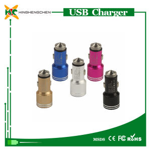 Colorful Phone Car Charger for iPhone Double USB Car Charger pictures & photos