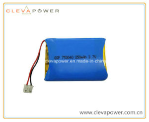 Li-ion Polymer Battery with 3.7V Voltage and 850mAh Capacity