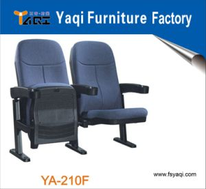 Hotsale Folding Conference Hall Chairs Popular Commercial Cinema Seating with Cup Holder (YA-210F) pictures & photos