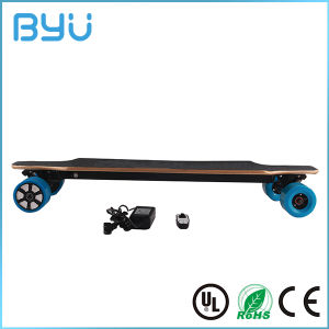 Remote Controlled Dual in-Wheel Motor Electric Skateboard pictures & photos