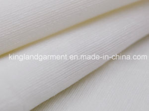 Polyester White Stripe Wide Width Inherently Fire Retardant Fireproof Voile pictures & photos