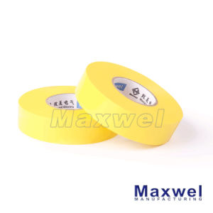 PVC Material Natural Rubber Adhesive Single Sided Electrical Tape pictures & photos