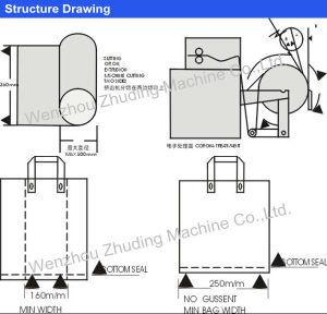 Non Woven Soft Loop Handle Welding Machine pictures & photos