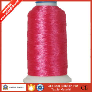 High Tenacity 100% Rayon Embroidery Thread pictures & photos
