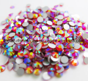 High Quality Ab Crystal Non Hotfix Rhinestone for Nailart (FB-SS12/Orange AB) pictures & photos
