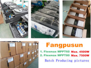 Fangpusun 150VDC Flexmax MPPT 60A 12V 24V 36V 48V 60V Solar Charge Controller pictures & photos
