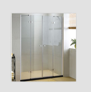 cheap glass stainless steel hinges frame two shower doors pictures
