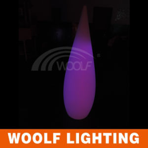2016 LED Color Changing Indoor Decoration Plastic Water Drop Table Lamp pictures & photos