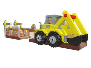 Excavator Inflatable Obstacle Course Chob1132 pictures & photos