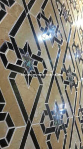 Marble Pattern Border, Water-Jet Marble Medallion for Interior Decoration 01 pictures & photos