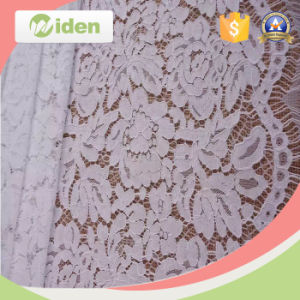 Lace Fabric Market in Dubai Warp Knitted Eyelash Lace Fabric pictures & photos
