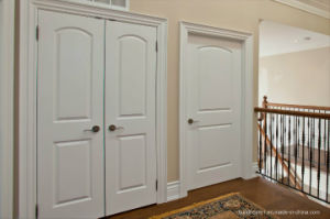 Residential Frame Double Interior Wooden Door Prices pictures & photos