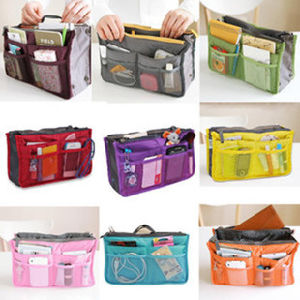 Cosmetic Zipper Portable Multifunctional Travel Handbag Storage Organizer Makeup Bag pictures & photos