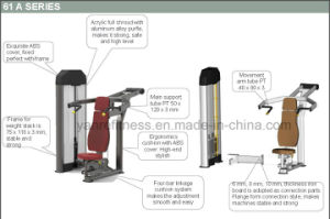 Ce Approved Commercial Gym Equipment Seated Chest Press pictures & photos
