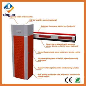 High Quality Straight Automatic Parking System Barrier Gate LED pictures & photos