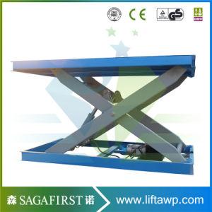 3000kg 3ton Stationary Car Scissor Lift Platform Table Lifts Electric pictures & photos