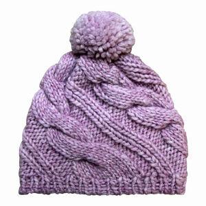 Lady Fashion POM POM Wool Knitted Winter Warm Beanie (YKY3106) pictures & photos