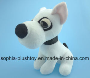 Soft Stuffed Plush Dog Toy White Dog pictures & photos