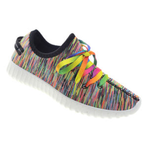 Colorful Laces Casual Sport Shoe for Womens pictures & photos