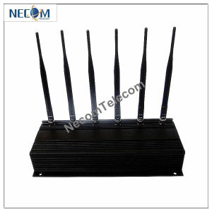 Signal Jammer/Blocker for Lojack,433,315,GPS/ 6 Antennas Cellular Jammer System,Jammer for 3G/4glte Cellphone GPS Lojack (UHF Radio) Walky-Talky or Car Remote pictures & photos