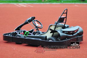 3mm Vehicle Frame Adult Pedal Go Kart with CNC Aluminum Hubs pictures & photos