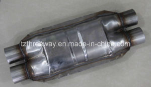 Magnaflow High-Flow Catalytic Converter Without Heat Shield -- Dual/Dual pictures & photos