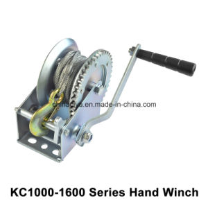 1000lbs-1600lbs Hand Puller Power Electric Crane Winch