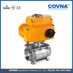 Stainless Steel Motorized Valve with Actuator pictures & photos