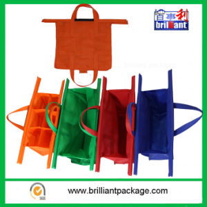 Hot Sale 4 Bags Trolley Bag Supermarket Shopping Cart Bag pictures & photos