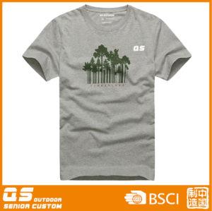 Men′s Melange Running Sports T Shirt pictures & photos