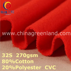 CVC Cotton Polyester Knitted Fabric for Textile Sportswear (GLLML384) pictures & photos