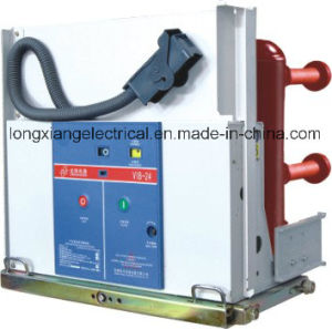 Vib-24 Indoor High Voltage Vacuum Circuit Breaker with Embedded Poles pictures & photos