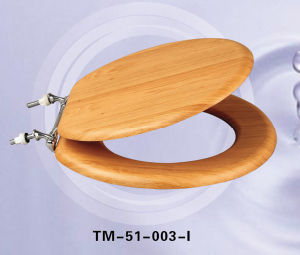 Solid Wood Veneer Toilet Seat
